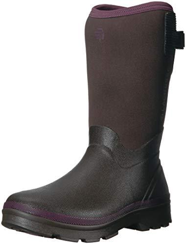 "Lacrosse Women's Alpha Range 12"" 5.0mm Mid Calf Boot Chocolate/Plum"