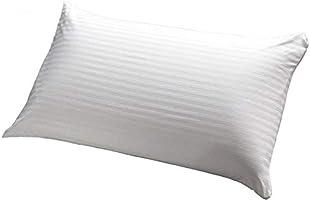 Soft stripe microfiber pillow