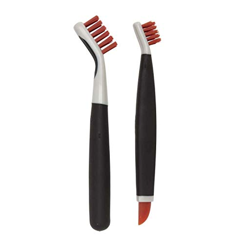 (OXO Good Grips Deep Clean Brush Set, Orange)