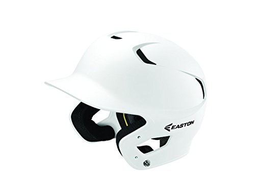 EASTON Z5 2.0 Batting Helmet | Junior | Matte White | Baseball Softball | 2019 | Dual-Density Impact Absorption Foam | High Impact Resistant ABS Shell | Moisture Wicking BioDRI Liner