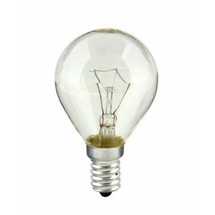 1 x Crompton 40 Watt Round Oven Lamp Clear Glass 300 Degree Small Edison Screw E14 Fitting Crompton Lamps Ltd