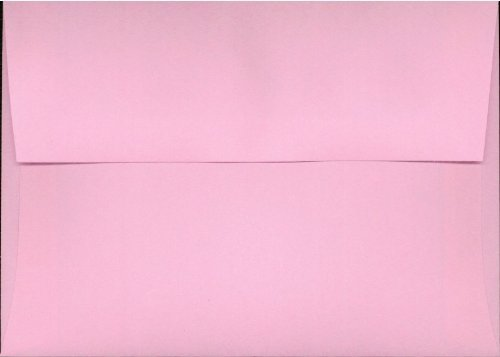 "UPC 609728860523, Box of 50 Pink A6 (4 3/4"" x 6 1/2"") Fits 4x6 Invitation Photo Wedding Announcement Envelopes"