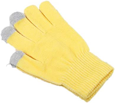 Gloves Women Knitted Touchscreen Smartphone Gloves Warm Wool Gloves Gift For Men Women Gold: Amazon.es: Deportes y aire libre