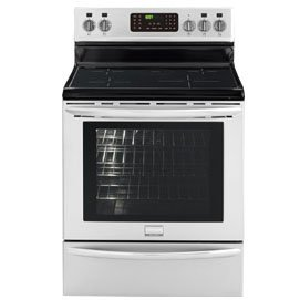 """Frigidaire Gallery FGIF3061NF 30"""" Freestanding Induction Range with True Convection Induction Cooktop and Effortless Temperature Probe with Auto Keep Warm in Smudge Proof Stainless"""