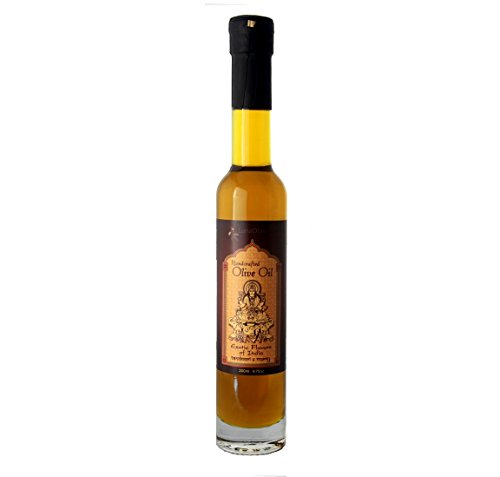 Napa Valley Olive Oil Indian Tandoori and Curry Infused Extra Virgin For Gourmet Cooking, Salad Dressing, Gift Baskets, Mediterranean Diet, Vegetarian Recipes, Health Food Or A Unique Gluten Free Gift (Non Food Gift Baskets)