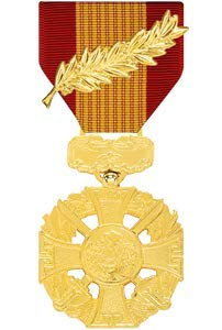 Medals of America Vietnam Gallantry Cross Medal with Palm Anodized