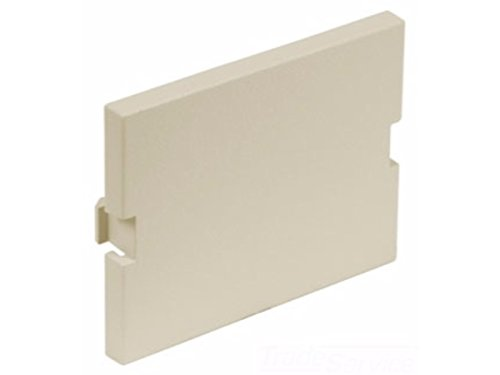 Hubbell IMB15EI iSTATION Module, Blank, 1.5 Unit Surface Mount, Electric Ivory (Pack of - Blank Filler Module