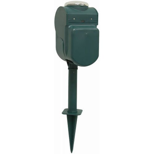 GE 24-Hour On/Off Outdoor Mechanical Timer with Yardstake