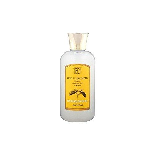 サンダルウッドスキンフード - 100ミリリットル旅 x2 - Trumpers Sandalwood Skin Food - 100ml Travel (Pack of 2) [並行輸入品] B071V7CH65