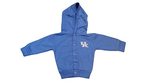 Kentucky Wildcats NCAA Newborn Hooded Sweatshirt Snap Jacket (3-6 Months)