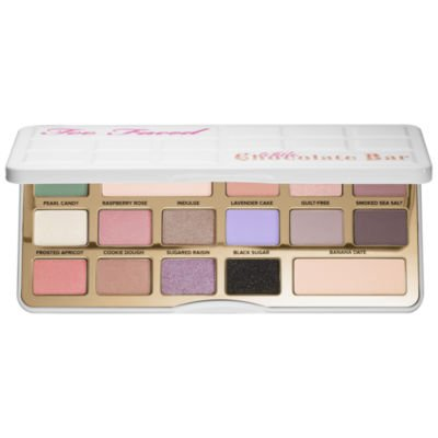 TOO FACED White Chocolate Bar Eyeshadow Palette Limited edit