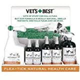 Vets Best Natural Flea & Tick Display