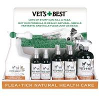 Vets Best Natural Flea & Tick Display by Imported Horse & Supply