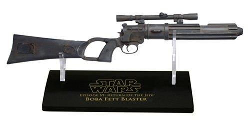 Star Wars Master Replicas .33 Scaled Replica Boba Fett Bl...