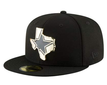 b4f4bb93d1712 Amazon.com   Dallas Cowboys New Era Gold Stated 59Fifty Cap   Sports ...