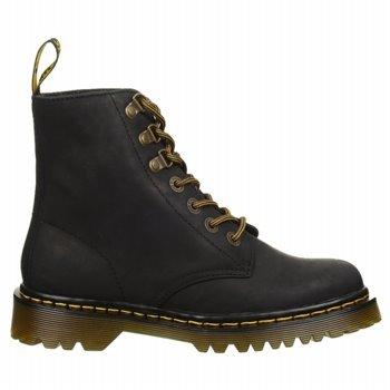 3d76dd34779a8 Amazon.com   Dr. Martens Women's Luana Lace Up Boots, Black, 8 UK ...