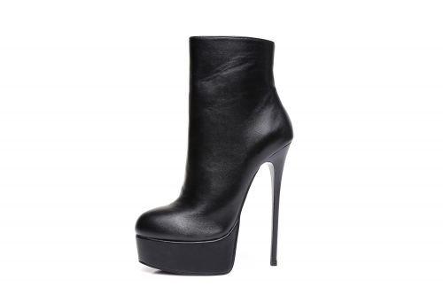 giaro Galana 1005 Mujer Hombre Plateau Botines Negro Mate Talla EUR 42: Amazon.es: Zapatos y complementos