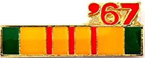 (Vietnam Veteran 1967 Ribbon Lapel Cap Hat Pin Tie Tac Marines Army Navy Air Force)