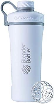 Coqueteleira térmica de água de aço inoxidável BlenderBottle Radian Shaker Cup com batedor de arame, 737 g, br