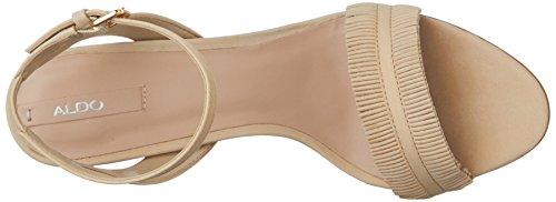 Women's High Neila Aldo Nubuck Heel Sandal Bone UpBpwxd
