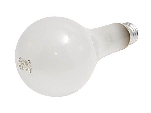 Philips 300W 120V to 130V PS25 Frosted Bulb, E26 Base 120v Ps25 Light Bulb