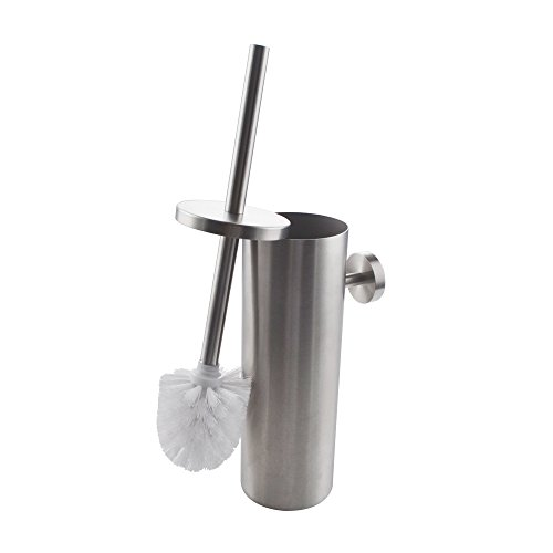 KES SUS 304 Stainless Steel Toilet Brush Wall Mount for Bathroom Storage Modern Style Brushed Finish BTB260-2 by Kes (Image #9)