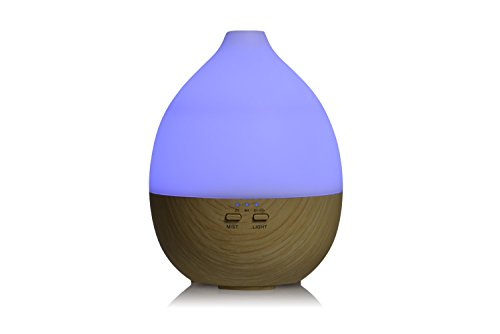 Aromatherapy diffuser and humidifier. Cool Mist Humidifier Ultrasonic Aroma Essential Oil Diffuser for home, spa, living room, bedroom. Adjustable Mist Modes, Waterless Auto Shut-off, Color LED Lights by Misstatu Home (Image #4)