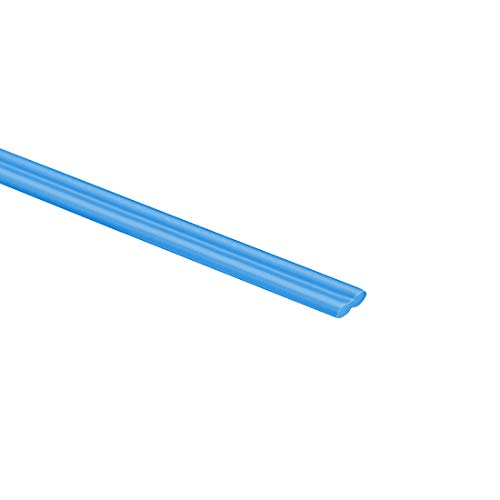 uxcell PP Plastic Welding Rods,5mm Wide,2.5mm Thick,1 Meter,Welding Sticks,Polypropylene Welding Rod,for Plastic Welder Gun/Hot Air Gun,Blue,6pcs