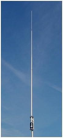 Comet Original CHA-250B HF/50 MHz (3.5~57) Antena de Base Vertical de Banda Ancha para Tierra