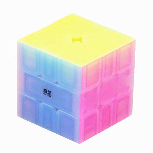 CuberSpeed QiYi Square-1 Jelly Cube Qiyi QiFa S SQ-1 Jelly Speed Cube Puzzle
