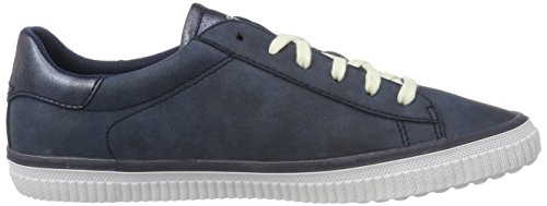 Esprit Riata Lace Up, Zapatillas para Mujer Azul (navy 400)