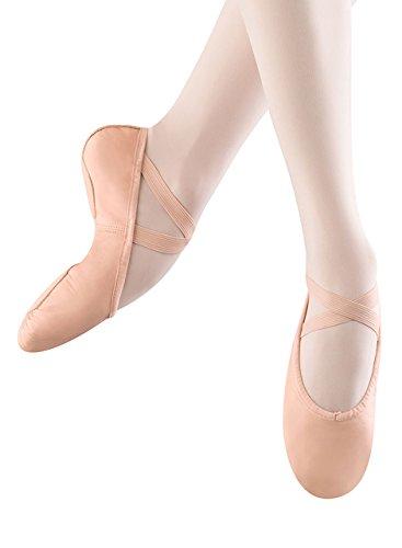 Bloch Dance Women's Prolite II Leather Ballet Slipper, Pink, 4 B (Pnk Pink Leather)