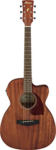 Ibanez Performance Series PC12MHCEOPN Grand Concert Acoustic-Electric Guitar Satin Natural ()