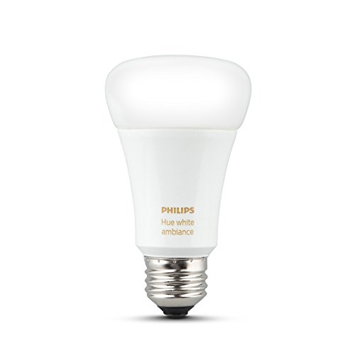 Philips Hue White Ambiance Smart Light Bulb Starter Kit (2 A19 Bulbs, 1 Bridge, and 1 Dimmer Switch, Works with Alexa, Apple HomeKit, and Google Assistant) (Certified Refurbished) by Philips (Image #2)