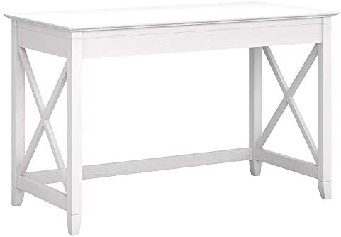 Bush Furniture Key West 48W Writing Desk, Pure White Oak