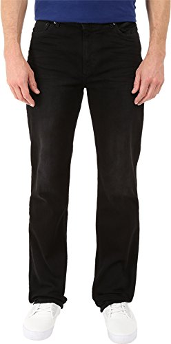 Calvin Klein Jeans Men's Straight Leg Jean In Worn Black, Wo