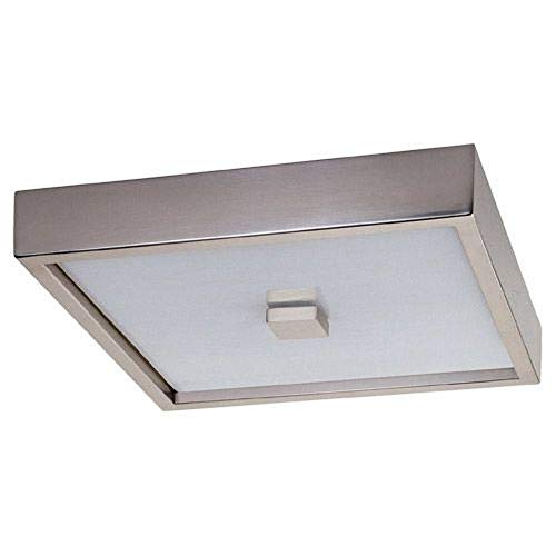 - Robert Abbey S152 Flush Mounts with Marbleized Glass Shades, Antique Silver Finish