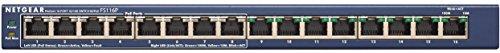 NETGEAR ProSAFE FS116PNA 16-Port Fast Ethernet Switch with 8 PoE Ports 70w (FS116PNA) by NETGEAR (Image #1)