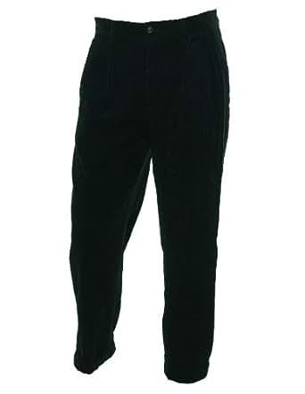Polo Ralph Lauren Men's the Preston Pant Corduroy Pants (34x32, Black)