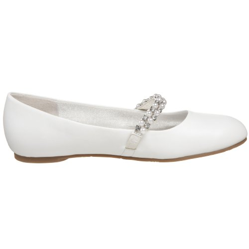 White little Kid Nataly Ballet Flat big Kid Nina Smooth C4Hqn