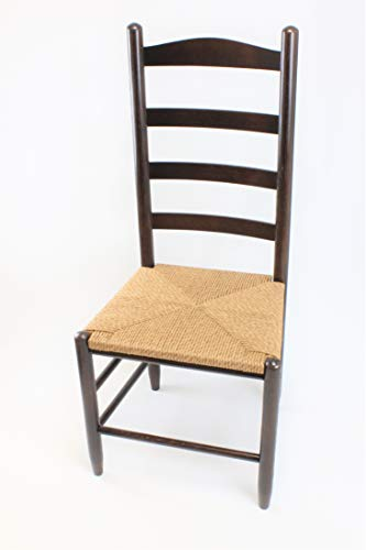 Dixie Seating Penrose Wood Ladderback Counter Stool No. 1224S ()