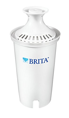 Brita Standard Replacement Water Filter for Pitchers, 1 Count