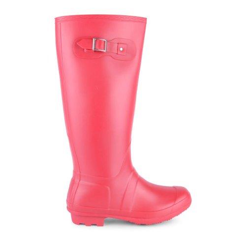 Footwear rojo mujer sintético Red Botas Sensation agua de de Plain rOUr1xq