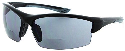 Cougar FS2 Sport Wrap Bifocal Reading Sunglasses (1.50)