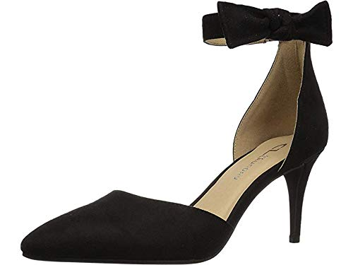 CL by Chinese Laundry Women's Outgoing Pump, Black Suede, 8.5 M US