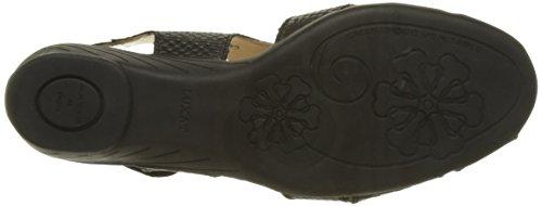 Luxat Crome - Zapatos Mujer Noir (Noir)