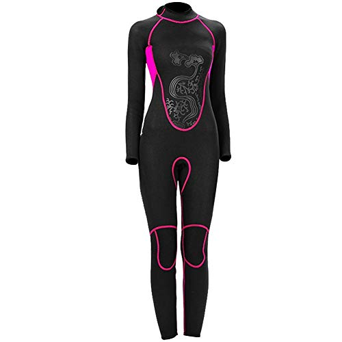 Vbestlife. SLINX Women 3MM One-Piece Full Body Winter Diving Suit Long Sleeve Fast Dry Swimwear Scuba Flocking Scuba Diving Wetsuit Snorkeling Windsurfing Swimming Wetsuit Back Zipper Swimwear(XL)