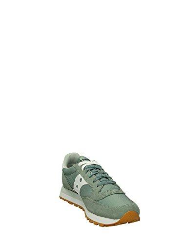 Saucony Sneakers Verde Jazz Uomo Basse Light 7xwgrH7qY