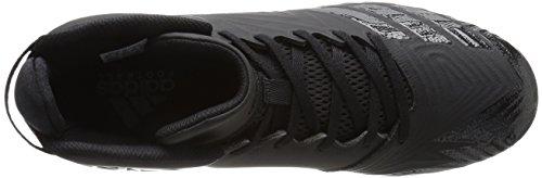 Adidas Freak X Carbon Mid Cleat Heren Voetbal Zwart / Zwart / Zwart