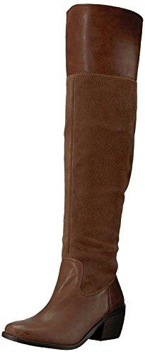 Lucky Brand Women's Komah Fashion Boot, Tobacco, 8 Medium US -